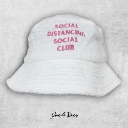 SOCIAL DISTANCING TERRY TOWELLING BUCKET HAT