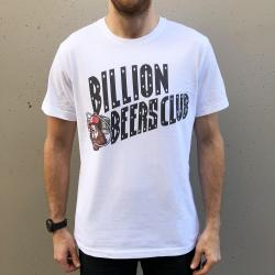 BILLION BEERS CLUB WHITE TEE