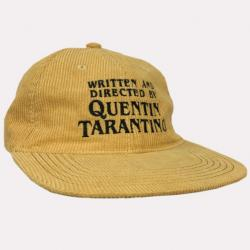 TARANTINO YELLOW CORD HAT