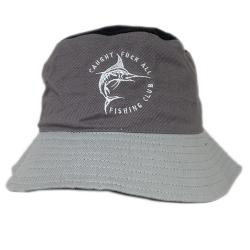 GREY TONE FISHING CLUB BUCKET HAT