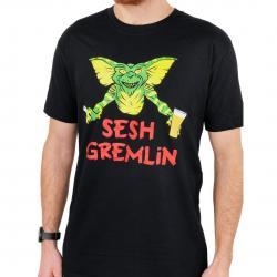 SESH GREMLIN BLACK TEE