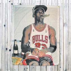 SMOKING HOT JORDAN WALL HANGING 750 X 1000MM