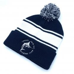 NAVY/WHITE CAUGHT F ALL BEANIE