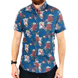 BABY HAWAIIAN BUTTON UP SHIRT