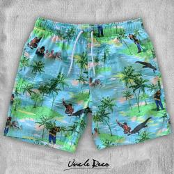 GILMORE HAWAIIAN BEACH SHORTS