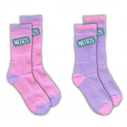 NERDS 2 PACK OF SOCKS