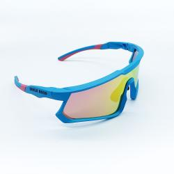 BLUE/PINK DUNGEON MASTER SUNGLASSES
