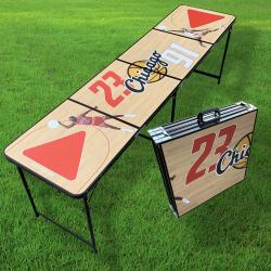 JORDAN VS RODMAN BEER PONG TABLE