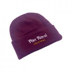 PORT ROYAL MAROON BEANIE