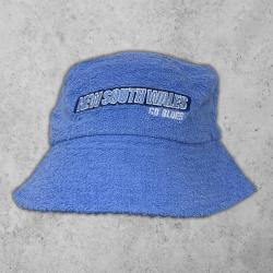 NEW SOUTH WALES BLUE TERRY TOWEL BUCKET HAT