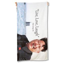 LIVE LOVE LAUGH BEACH TOWEL