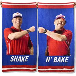 SHAKE N BAKE BEACH TOWEL SET