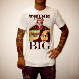BEST BIGGIE TEE EVER WHITE TEE
