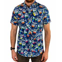 VODKA BUTTON UP SHIRT