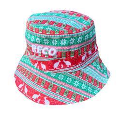 8BIT XMAS BUCKET HAT