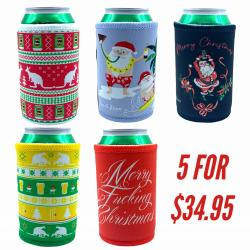 KRIS KRINGLE STUBBY HOLDER COMBO