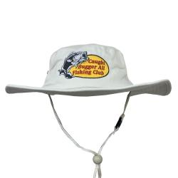 BUGGER ALL FISHING CLUB WIDE BRIM HAT