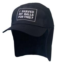 SHAVED MY BALLS NAVY LEGIONNAIRES HAT