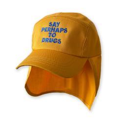 SAY PERHAPS GOLD LEGIONNAIRES HAT
