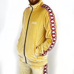 GOLD VELOUR TRACKSUIT