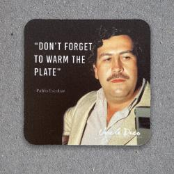 WARM THE PLATE COASTER