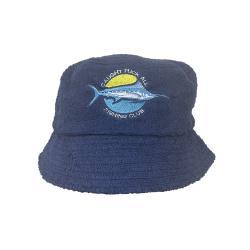 NAVY FISHING CLUB TERRY TOWEL BUCKET HAT