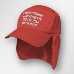STAB MY EYES RED LEGIONNAIRES HAT