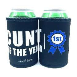 CUNT OF THE YEAR STUBBY HOLDER