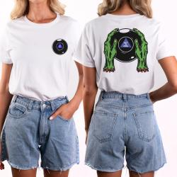 WOMENS 8BALL FRONT AND BACK TEE
