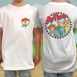 ARTHUR FRONT AND BACK KIDS TEE