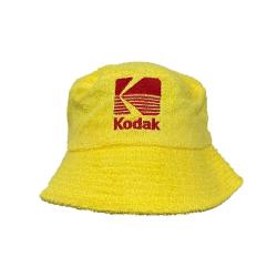 KODAK YELLOW TERRY TOWEL BUCKET HAT
