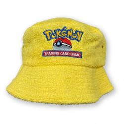 TRADING CARD YELLOW TERRY TOWEL BUCKET HAT