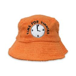 TIME FOR TINNIES TERRY TOWEL BUCKET HAT