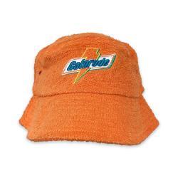 VINTAGE ORANGE GATORADE TERRY TOWEL BUCKET HAT