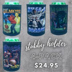 VINTAGE STUBBY HOLDER 4-PACK COMBO