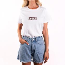 VACCINATED AND READY EMBROIDERED UNISEX TEE