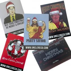 CHRISTMAS STICKER 5 PACK COMBO
