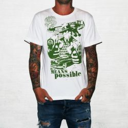 BY ALL MEANS POSSIBLE WHITE TEE