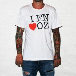 FN LOVE OZ WHITE TEE