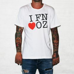 FN LOVE OZ WHITE TEE