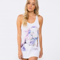 LOST IN WAR WHITE SINGLET