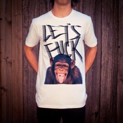 MONKEY BUSINESS WHITE TEE